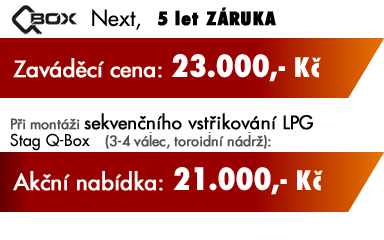 Akční nabídka přestavby na LPG